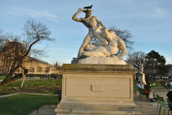 Sculpture picture of jardin des tuileries paris - Statues jardin des tuileries ...