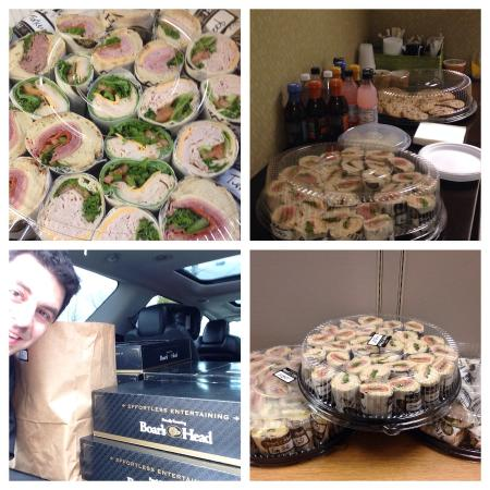 Handy's Lunch: Office catering