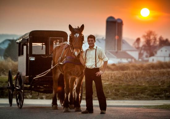 Ronks, PA: Ride with Caleb from Amish Mafia