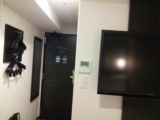 APA Hotel Higashi Shinjuku Ekimae : 大きなテレビ