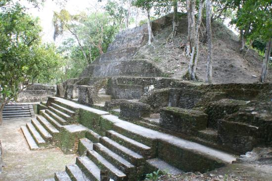 Cahal Pech Mayan Ruins & Museum: A small temple