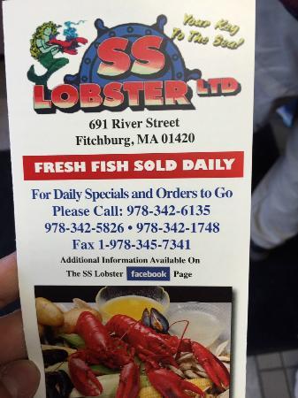 S S Lobster Ltd Fitchburg Ma S S Lobster Ltd   Fitchburg