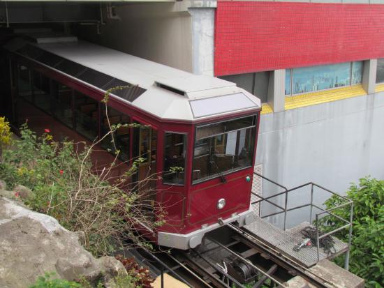 how to get to peak tram