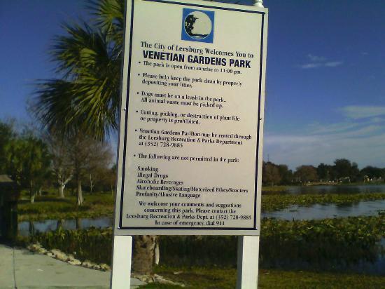 Venetian Gardens Park: VP