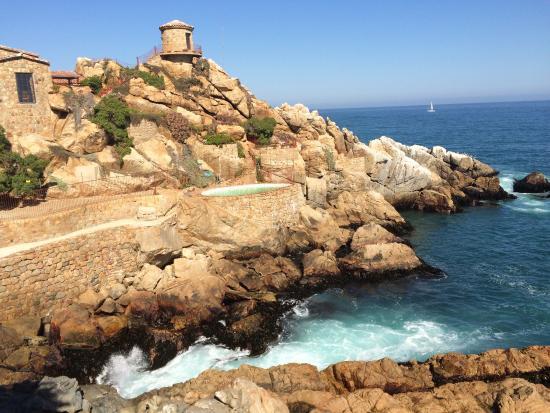 Foto de rock house vi a del mar casa de piedra entre for Casa royal vina del mar