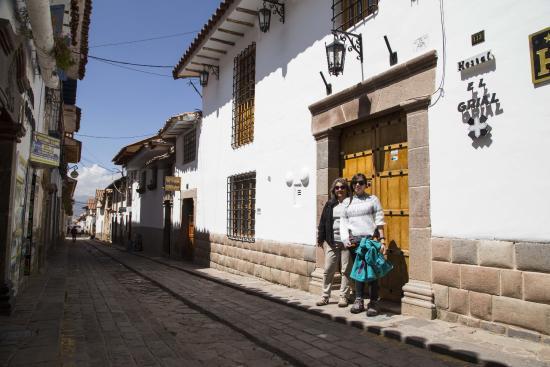 Hostal El Grial: Hermoso barrio de San Blas