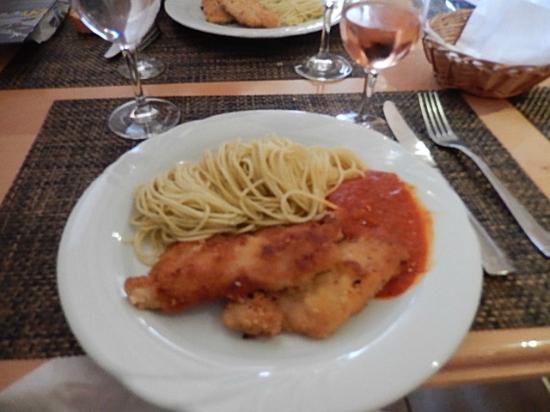 Rossinière, Suiza: lunch