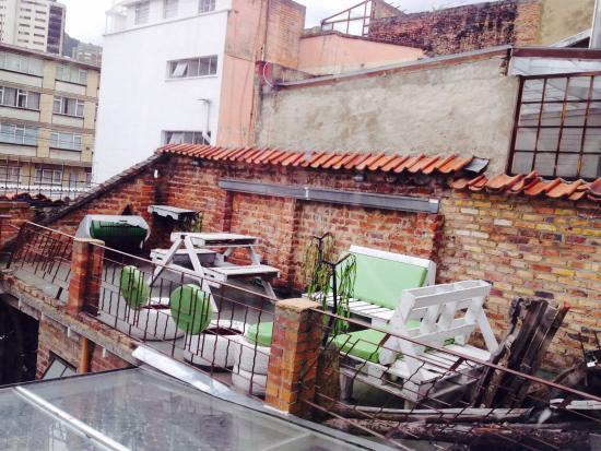 Kozii hostel D.C: Roof terrace