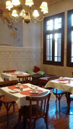 Casaltura The Boutique Hostel : Zona de desayuno
