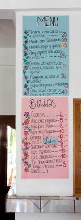 La Casa Familiar Restaurant and Guesthouse: Menu