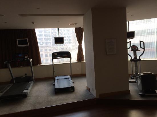 "Ambassador Hotel: ""Fitness centre"" was a joke, unusable"