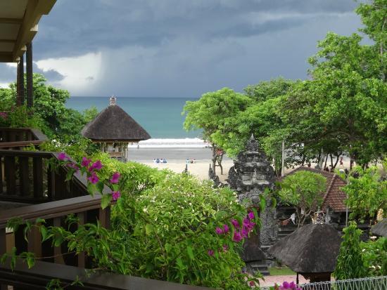 Kuta Paradiso Hotel: 部屋からの眺め