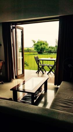 Hoi An Green Life Apartment: room on 2nd floor. view of rice fields