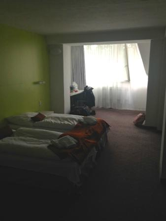 Hotel Ostredok : our room, nice and big