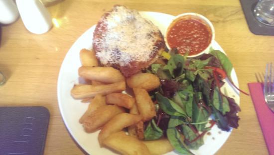 The Royal Inn: Chicken Palm - Bland/Burnt