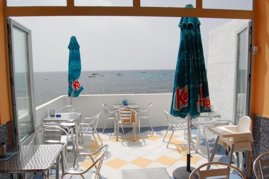 Terrasse Direkt Am Meer - Picture Of El Pasito, Arrieta - Tripadvisor Terrassen Design Meer Bilder