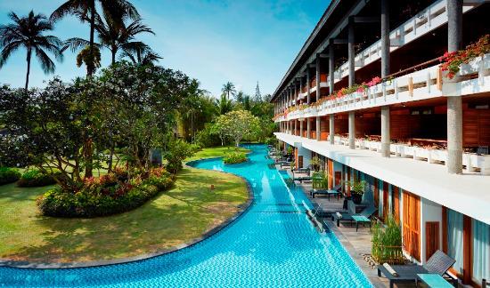 Melia Bali Indonesia: Lagoon Access