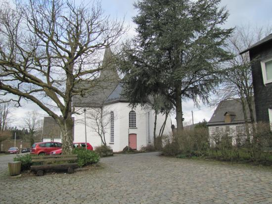 Gummersbach, Germany: outside of the church