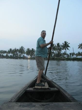 Philipkutty's Farm: Thats me at the helm