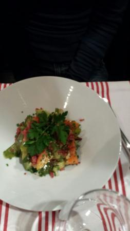 Le Zinc du marche : insalata.mista cotta