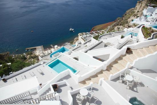 Filotera Suites: Cave Grand Suite with private heated Pool & Jacuzzi