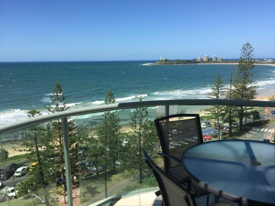 Malibu Mooloolaba Holiday Apartments: Wonderful view from our balcony