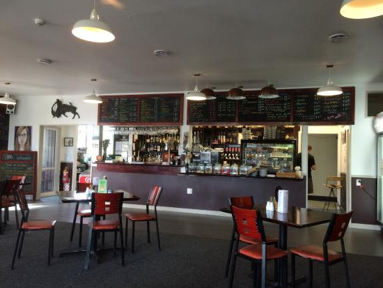 Last Light Cafe: Great little refreshment stopover point between Te Anau and Invercargill