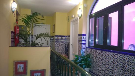 La Hosteria de Dona Lina : corridoio delle camere