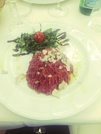 Girarrosto Fiorentino : The best tartare in my life !
