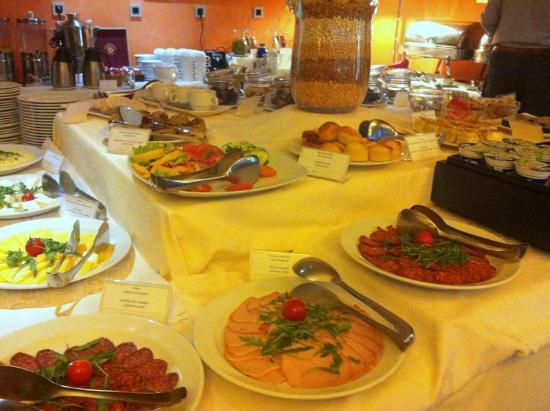 Life Design Hotel: rich, fresh breakfast