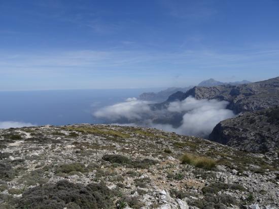 Mallorca Hiking : View over Tramuntana