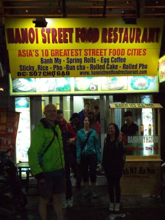Hanoi Street Food Restaurant