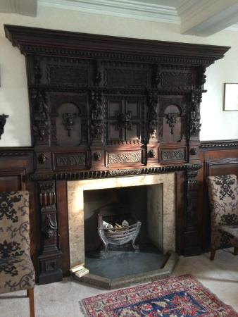 Low Graythwaite Hall Country House: Dinning Room Fireplace