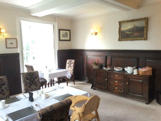Low Graythwaite Hall Country House: Dinning Room
