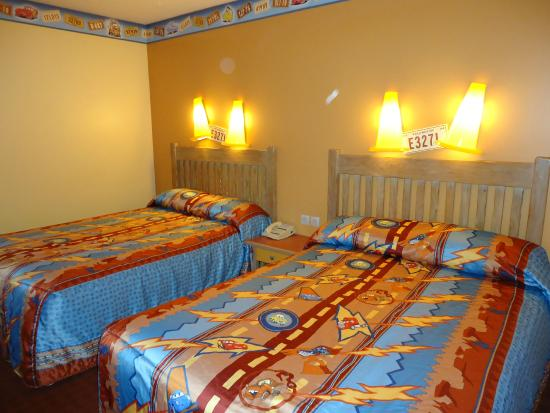 uitzicht kamer picture of disney 39 s hotel santa fe marne la vallee tripadvisor. Black Bedroom Furniture Sets. Home Design Ideas
