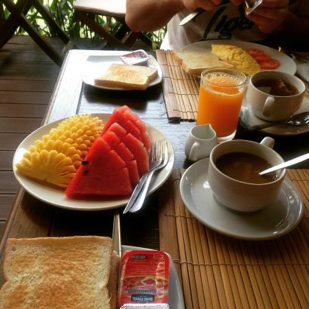 Le Piman Resort: breakfast