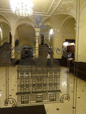 Lobby Of The George Hotel