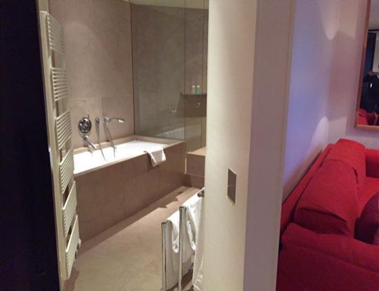 Troisgros : salle de bain