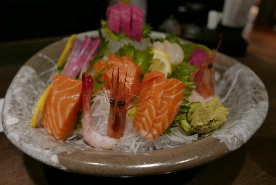 Sun with Aqua : Sashimi variado