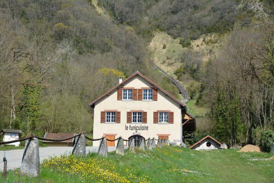 Le Funiculaire de Saint-Hilaire du Touvet : Потрясающий вид!!!