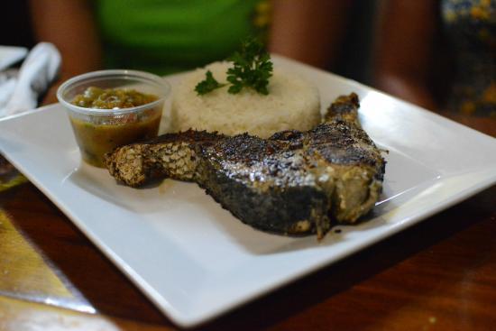 Ko-Ox Han nah: Barracuda Steak