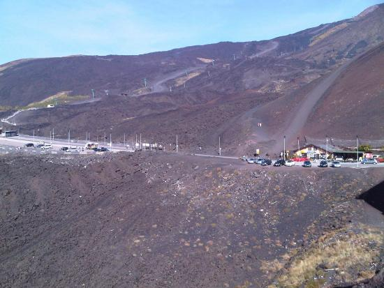 Mt Etna Cable Car 2001 Lava Picture Of Sicily With Sebastian