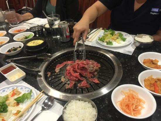 Best Beef Brisket In Los Angeles Picture Of Pine Tree Korean Bbq