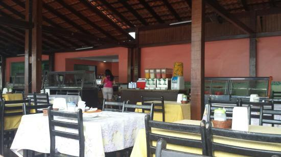 Cafe Regional Tapiri: Espaço do restaurante.