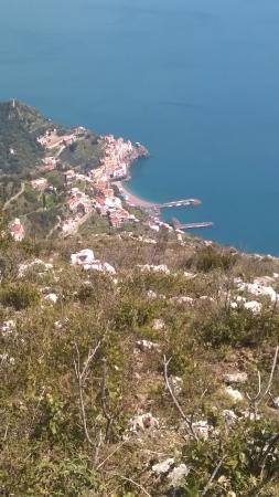 Amalfi Car Service Tours : Amalfi from Pogerola