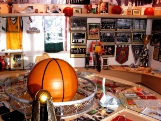 The Joniskis Basketball museum