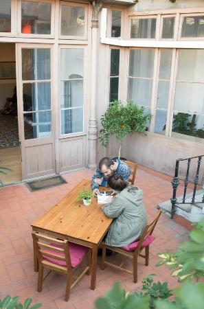 Soul Backpackers Barcelona: Terraza
