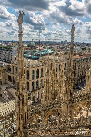 Vista panoramica dalle terrazze del Duomo - Picture of Duomo di ...
