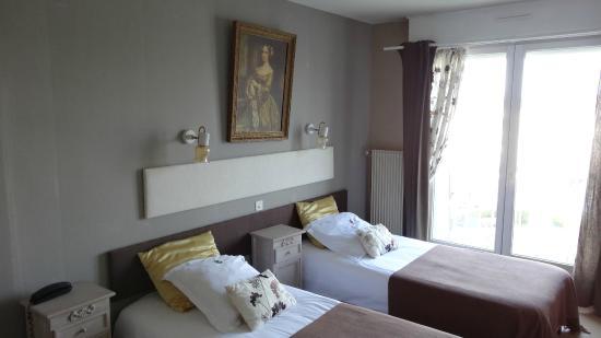 Hotel Le Littoral: chambre 33
