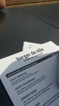 Burger De Ville
